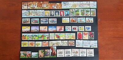 Sets Of Used Australian Stamps