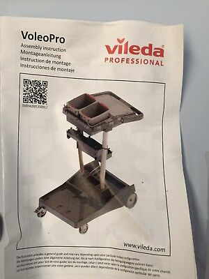 Vileda Proffesional Cleaning Station ,Trolley