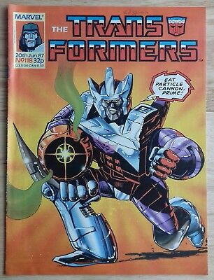Transformers UK Comic Issue 118