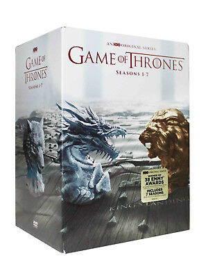 Game of Thrones Seasons One-Seven Boxset 1-7 (DVD 2017, 34-Disc) Brand New