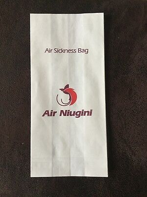 Air Sickness Bag Air Niugini Spuckbeutel