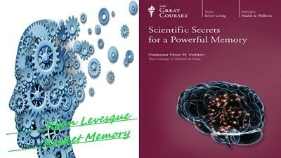 Ryan Levesque Rocket Memory  +  Scientific Secrets for a Powerful Memory