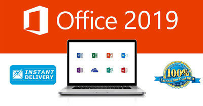 Microsoft Office 365/2019 Professional Plus - 5 Devices - Multilanguage
