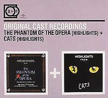 2 for 1:Phantom of the Opera/Cats (Highlights) von Or... | CD | Zustand sehr gut