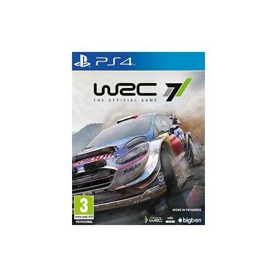 WRC 7 nuovo Playstation 4 PS4 italiano