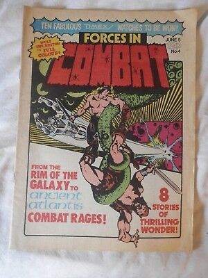 FORCES IN COMBAT No 4  comic (1980)