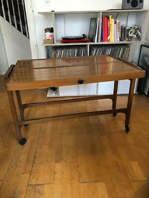 Unique vintage folding table / sideboard / mid century style / modernist