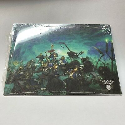 Warhammer 40k 500th Store Limited Edition Collectors Postcards