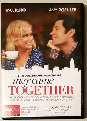 They Came Together (Paul Rudd & Amy Poehler) DVD **BRAND NEW** (Region 4)