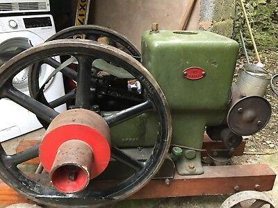 old stationary engine Ruston Hornsby P.R. 4HP