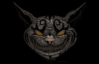 Cheshire Cat Quotes - Alice in Wonderland Wall Poster / Canvas Picture Prints
