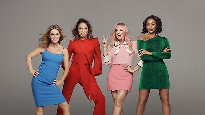 Spice Girls Croke Park Pitch 'C' Standing Tickets