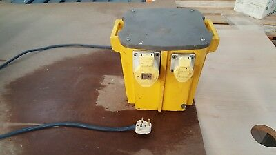 110v transformer with one 32 amp and two 16 amp outlets