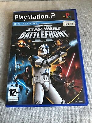 Star Wars Battlefront II - Sony PS2 - UK PAL video game (2005) - complete - VGC
