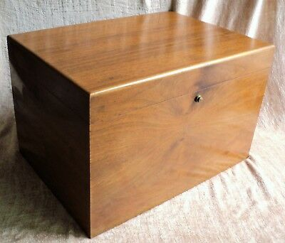 Vtg HUGE DUNHILL Cigar HUMIDOR Filled with Cigar-Related ACCESSORIES 18x13x11.5""