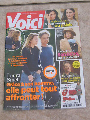 Voici 1620 Laura Smet, Meghan & Kate, David Hallyday, Jessica Chastain, P. Diddy