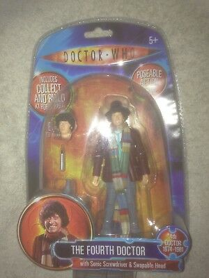 Doctor Who Action Figure. Fourth Doctor. Pristine Mint!!