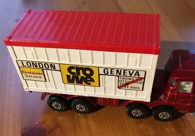 Matchbox Super Kings K-24 Container Truck (1976)