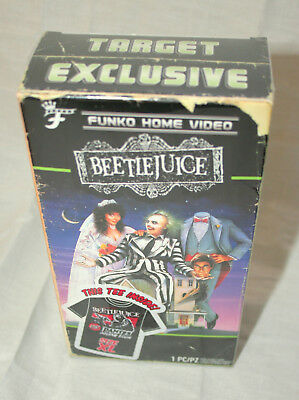 Funko Beetlejuice Dantes Room T-Shirt New Sz XL Sealed VHS Box Target Exclusive