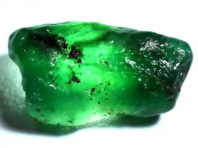 17.85 Natural Green Colombian Emerald AGSL Certified Untreated FACET Rough