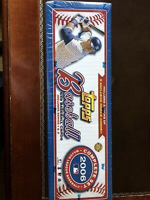 Topps Baseball 2006 Complete Set Series 1&2 659 Cards 5 EXCLUSIVE ROOKIE CARDS!