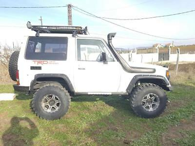 Toyota Land Cruiser LJ 70  Plastic Fender Flares Set. Off Road. 4x4.