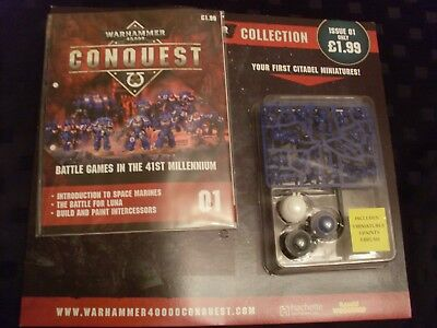 Warhammer 40000Conquest issue 1, factory sealed, complete.