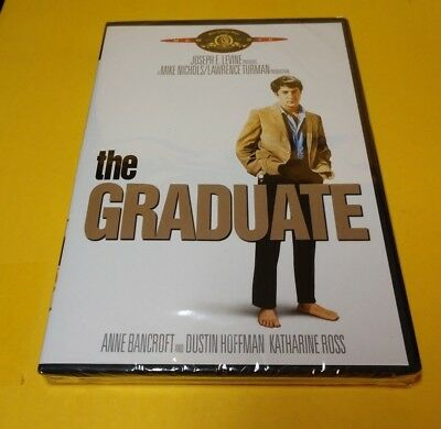 The Graduate (DVD,1969)Dustin Hoffman-NEW-Free First Class Shipping with Trackin