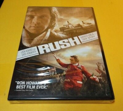Rush (DVD, 2014)Chris Hemsworth-NEW-Free First Class Shipping with Tracking