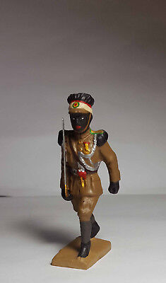 LINEOL copy: Ethiopian officer of the imperial guard; pasta, composition masse