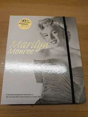 Marilyn Monroe 50th anniversary deluxe presentation pack paperback Book & DVD