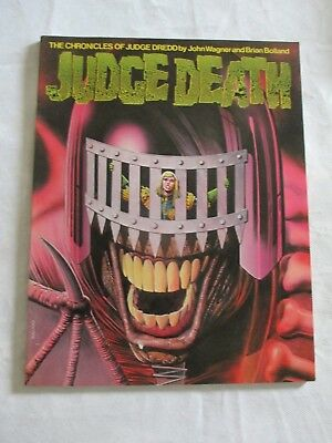 Judge Death (The Chronicles of Judge Dredd) Paperback 1st print  Wagner  Bolland