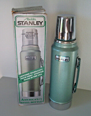 New Stanley Aladdin thermos w/handle complete new in orig. box!