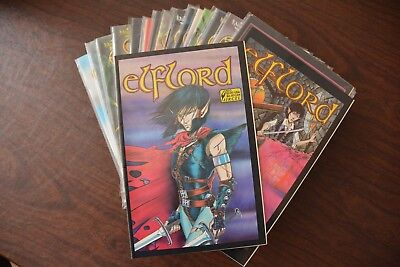 Elflord comics lot - Volume two issues #1-31 plus #15.5 - Barry Blair - Aircel c