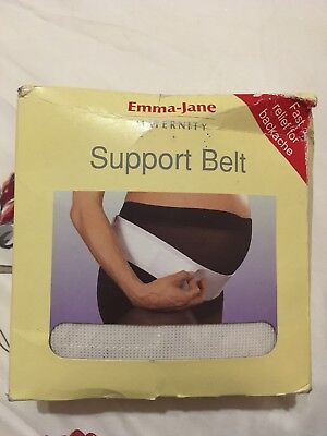 Emma-Jane Maternity Pregnancy Bump Support Belt Back Pain Relief Used Boxed