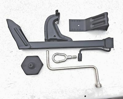 BMW e30 boot toolkit , jack, brace, chock , tow eye .