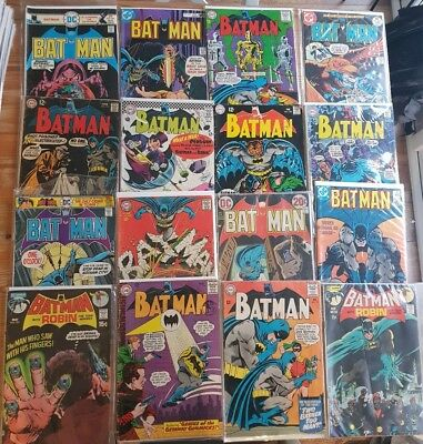 Batman - Silver Age Lot - DC comics