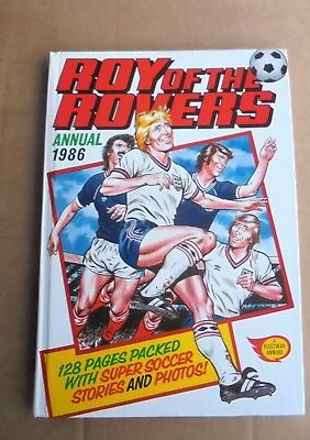 Vintage ROY of the ROVERS Annual 1986 VGC Unclipped