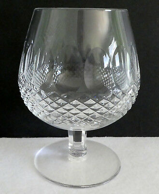 Waterford Crystal Colleen Brandy Snifter Glasses Short Stem 5 1/4""