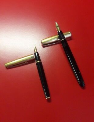 2 Stylos plume WATERMAN dont IDEAL plumes Or