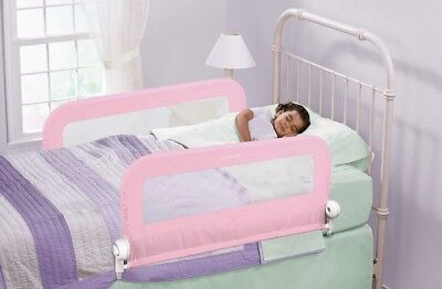 Summer Infant Fold Down Double Bed Rail (Pink)