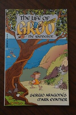 The Life of GROO the Wanderer, Sergio Aragone, 1993, Epic Comics, First Edition