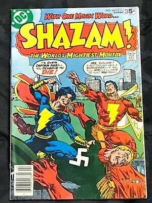 SHAZAM! 34  Origin & 1st Modern Appearance of Captain Nazi! 1978!