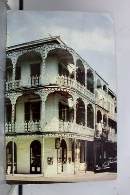 Louisiana LA New Orleans Iron Lace Balconies Postcard Old Vintage Card View Post