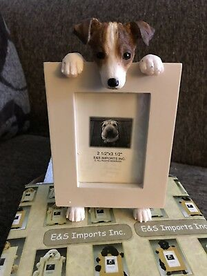 Jack Russell Terrier Picture Frame Nib