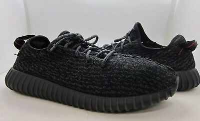 b972fb5497c ADIDAS YEEZY BOOST 350 Pirate Black 2015 USED (Mens Size 11.5 ...