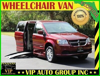 2016 Dodge Grand Caravan Handicap Wheelchair Mobility  Side Ramp 2016 Dodge Handicap Wheelchair Van Braun Mobility with Power Side Entry Ramp