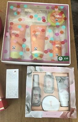 Perfume & Toiletries Gift Set Bundle ,4 NEW Sealed Sets( Next, Ted Baker, Boots)
