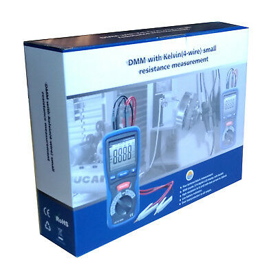 1PC CEM DT-5302 Digital High-Accuracy Kelvin Small Resistance Milliohm Meter