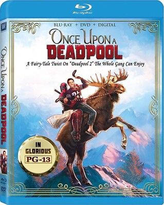 Once Upon A Deadpool (Deadpool 2 Re-Edited) | Blu-Ray | Dvd | Fred Savage